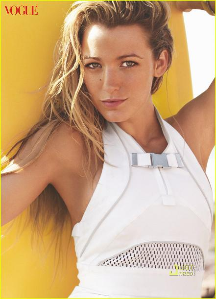 Blake lively covers the june issue of VOGUE
